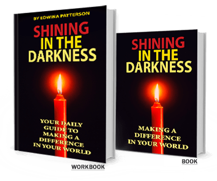 Shining in the Darkness book and workbook